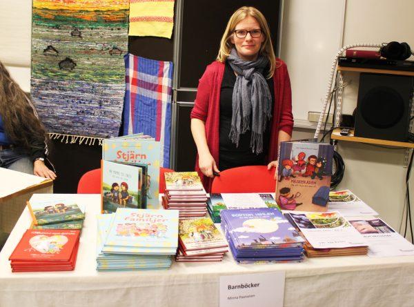 Vår egen Minna Paananen sålde sina fantastiska barnböcker