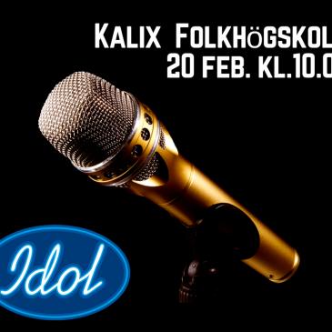 IDOL kommer till Kalix folkhögskola