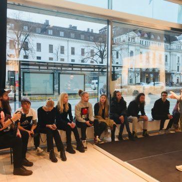 Träff med Youtuber-klassen i Stockholm