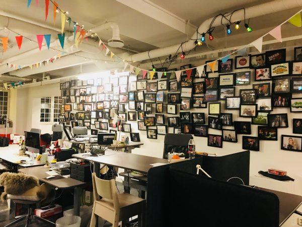Wall of fame - tavlor om United Screens många influencers