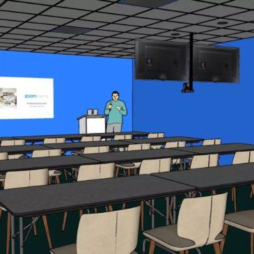 Nu tar vi klassrummen in i framtiden – hybridklassrum!
